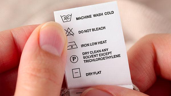 ký hiệu giặt ủi quần áo
